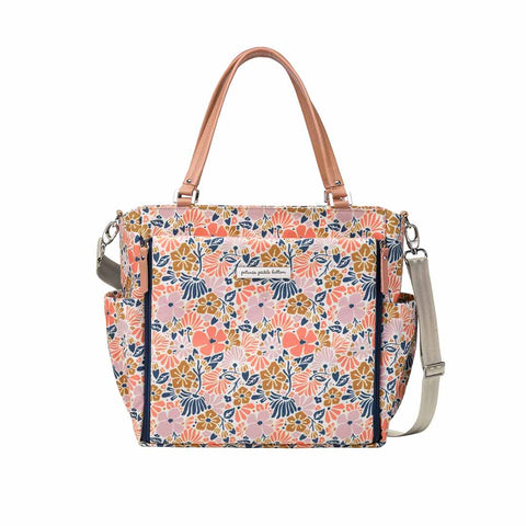 Petunia Pickle Bottom Changing Bag - City Carryall - Wildflowers of Westbury-Changing Bags- Natural Baby Shower