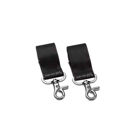 Petunia Pickle Bottom Valet Stroller Clips - Silver