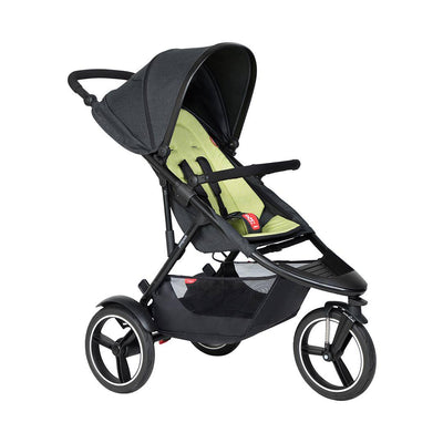Phil & Teds Dash Pushchair - Apple-Strollers-Apple- Natural Baby Shower