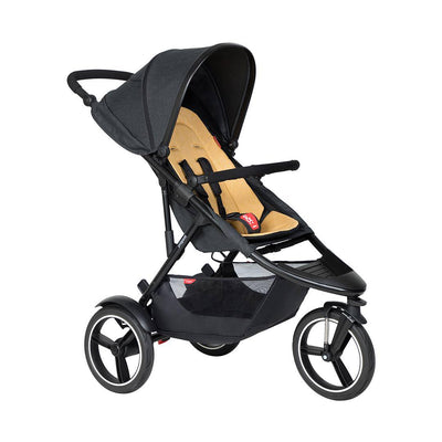 Phil & Teds Dash Pushchair - Butterscotch-Strollers-Butterscotch- Natural Baby Shower