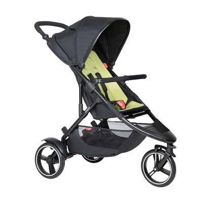 Phil & Teds Dot Pushchair - Apple-Strollers-Apple- Natural Baby Shower