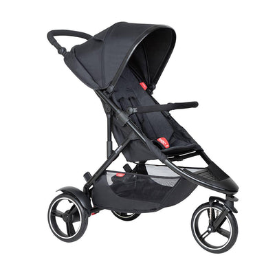 Phil & Teds Dot Pushchair - Black-Strollers-Black- Natural Baby Shower
