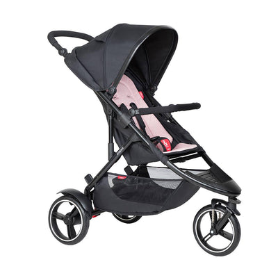 Phil & Teds Dot Pushchair - Blush-Strollers-Blush- Natural Baby Shower