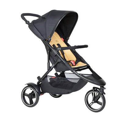 Phil & Teds Dot Pushchair - Butterscotch-Strollers-Butterscotch- Natural Baby Shower