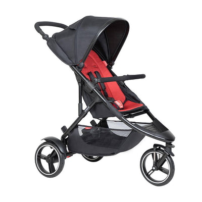 Phil & Teds Dot Pushchair - Chilli-Strollers-Chilli- Natural Baby Shower