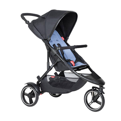Phil & Teds Dot Pushchair - Sky-Strollers-Sky- Natural Baby Shower