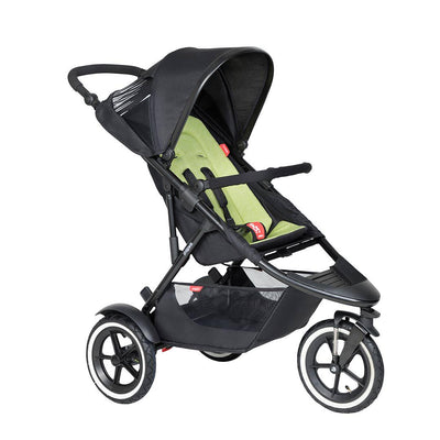 Phil & Teds Sport Pushchair - Apple-Strollers-Apple- Natural Baby Shower