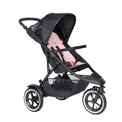 Phil & Teds Sport Pushchair - Blush-Strollers-Blush- Natural Baby Shower