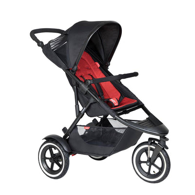 Phil & Teds Sport Pushchair - Chilli-Strollers-Chilli- Natural Baby Shower