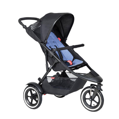 Phil & Teds Sport Pushchair - Sky-Strollers-Sky- Natural Baby Shower