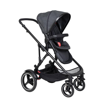 Phil & Teds Voyager Pushchair - Black-Strollers-Black- Natural Baby Shower