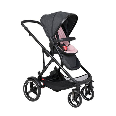 Phil & Teds Voyager Pushchair - Blush-Strollers-Blush- Natural Baby Shower