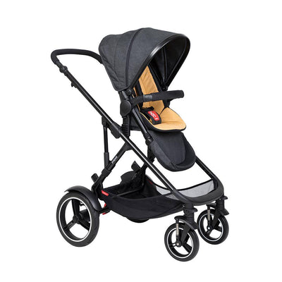Phil & Teds Voyager Pushchair - Butterscotch-Strollers-Butterscotch- Natural Baby Shower