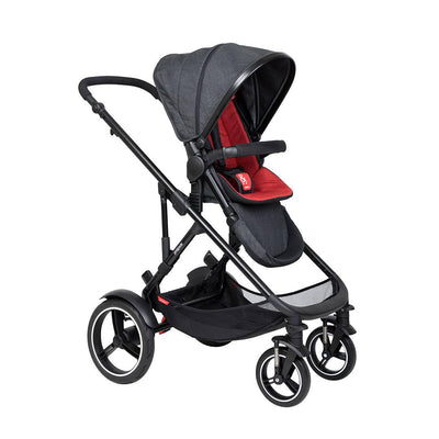 Phil & Teds Voyager Pushchair - Chilli-Strollers-Chilli- Natural Baby Shower