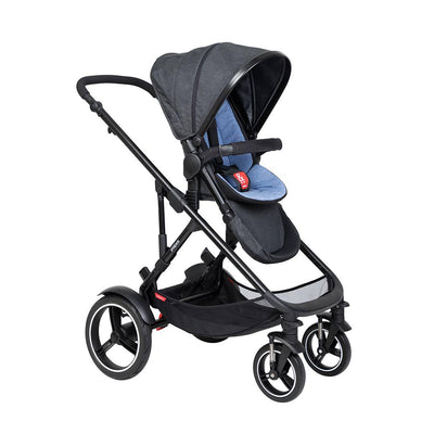 Phil & Teds Voyager Pushchair - Sky-Strollers-Sky- Natural Baby Shower
