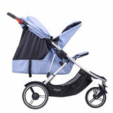 Phil & Teds Dash Double Kit - Blue Marl-Stroller Seats- Natural Baby Shower