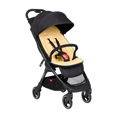 Phil & Teds Go V2 Pushchair - Butterscotch-Strollers- Natural Baby Shower