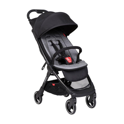 Phil & Teds Go V2 Pushchair - Charcoal-Strollers- Natural Baby Shower