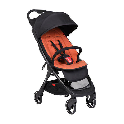 Phil & Teds Go V2 Pushchair - Rust-Strollers- Natural Baby Shower