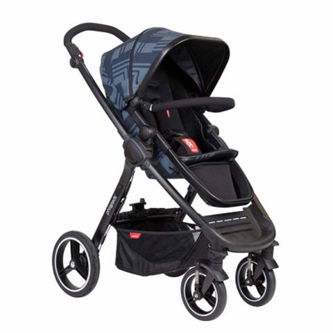 Phil & Teds Mod Pushchair - Noir-Strollers- Natural Baby Shower