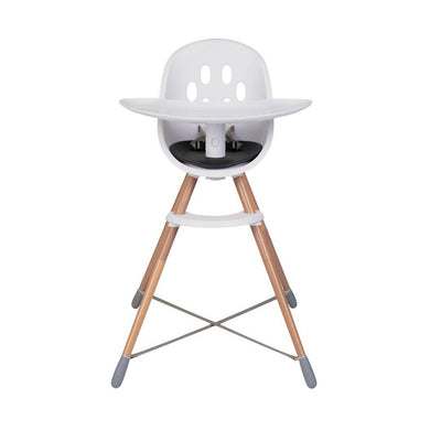 Phil & Teds Poppy Highchair - Wooden - Black-Highchairs- Natural Baby Shower