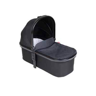 Phil & Teds Snug Carrycot & Lid - Black-Carrycots- Natural Baby Shower
