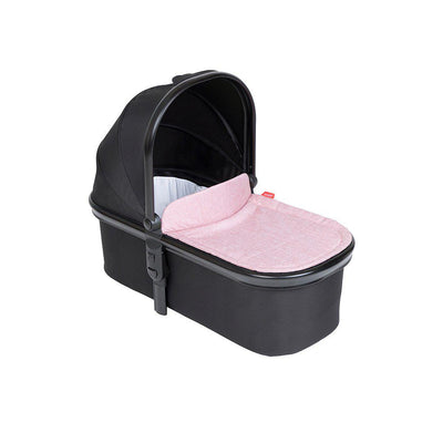 Phil & Teds Snug Carrycot & Lid - Blush-Carrycots- Natural Baby Shower