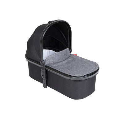 Phil & Teds Snug Carrycot & Lid - Charcoal-Carrycots- Natural Baby Shower