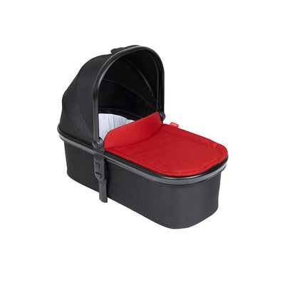Phil & Teds Snug Carrycot & Lid - Chilli-Carrycots- Natural Baby Shower