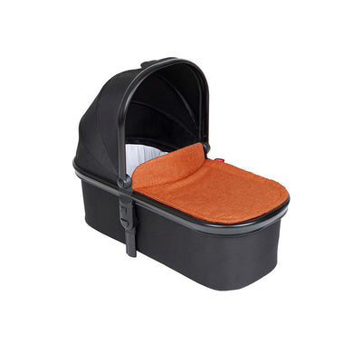 Phil & Teds Snug Carrycot & Lid - Rust-Carrycots- Natural Baby Shower