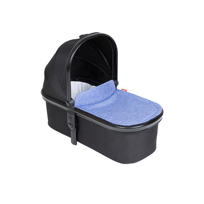 Phil & Teds Snug Carrycot & Lid - Sky-Carrycots- Natural Baby Shower