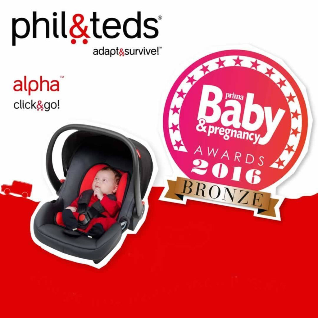 Phil & Teds Alpha Car Seat Black