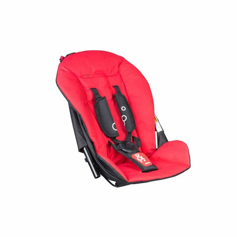 Phil & Teds Dot Double Kit - Chilli-Stroller Seats- Natural Baby Shower