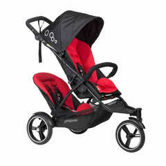 Phil & Teds Dot Pushchair + Double Kit inChilli