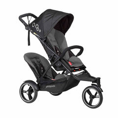 Phil & Teds Dot Pushchair + Double Kit in Graphite