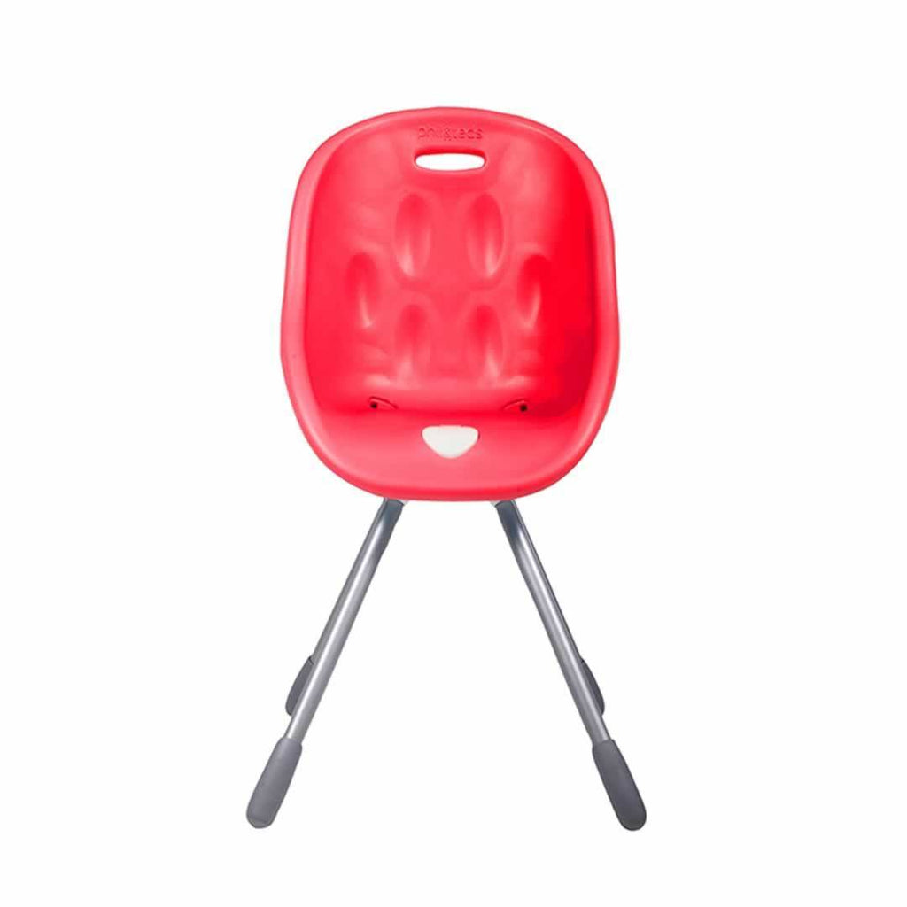 Phil & Teds Poppy High Chair - Cranberry Front