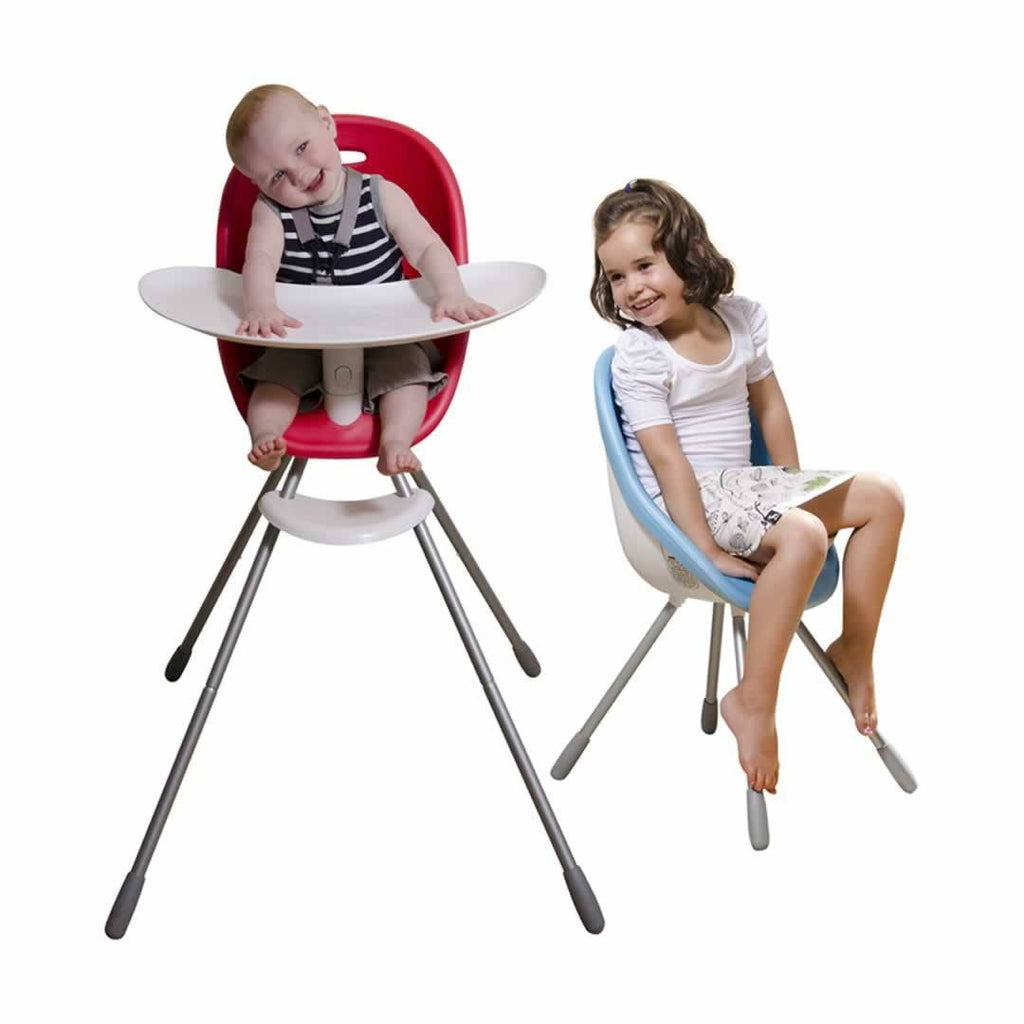 Phil & Teds Poppy High Chair - Cranberry Lifestyle