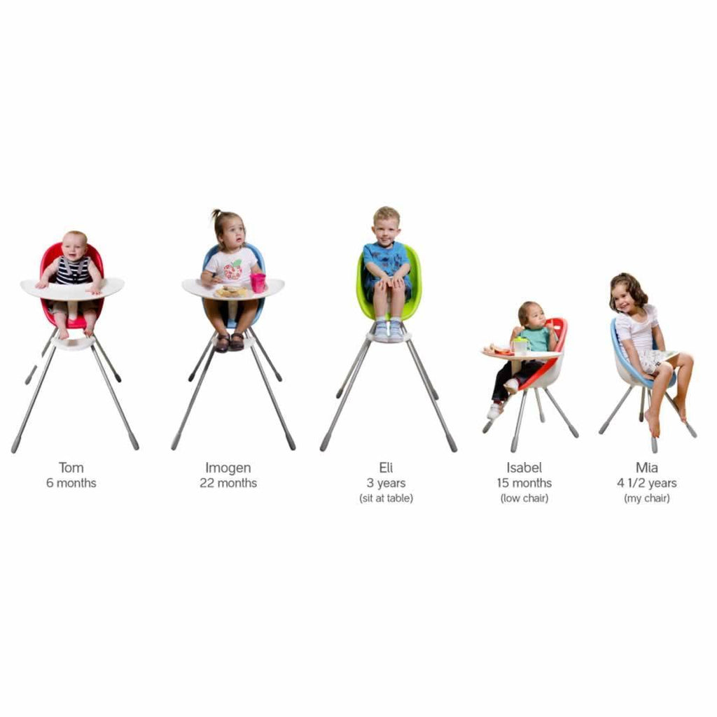 Phil & Teds Poppy High Chair - Cranberry Chart