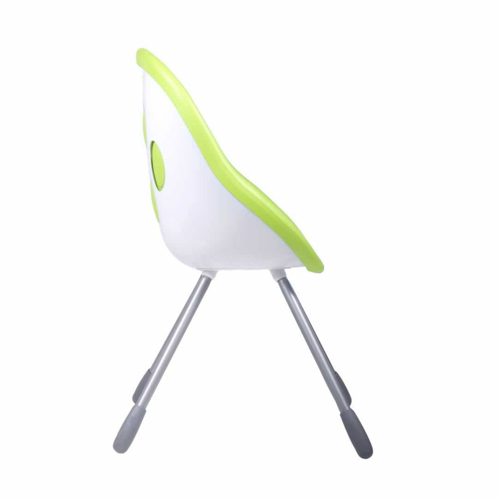Phil & Teds Poppy High Chair in Lime - Side