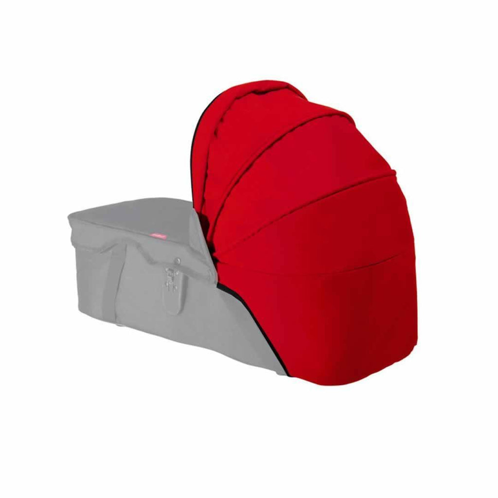 Phil & Teds Snug Carrycot Sunhood in Red