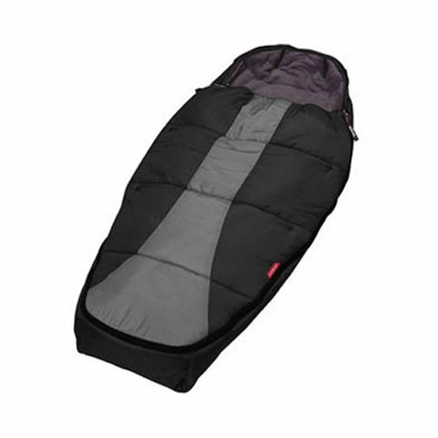 Phil & Teds Snuggle & Snooze Sleeping Bag in Black & Charcoal