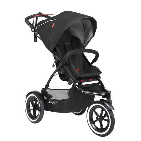 Phil & Teds Sport Pushchair - Black - Strollers - Natural Baby Shower