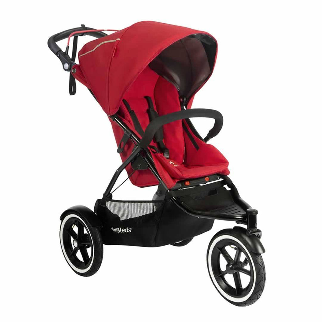 Phil & Teds Sport Pushchair Cherry