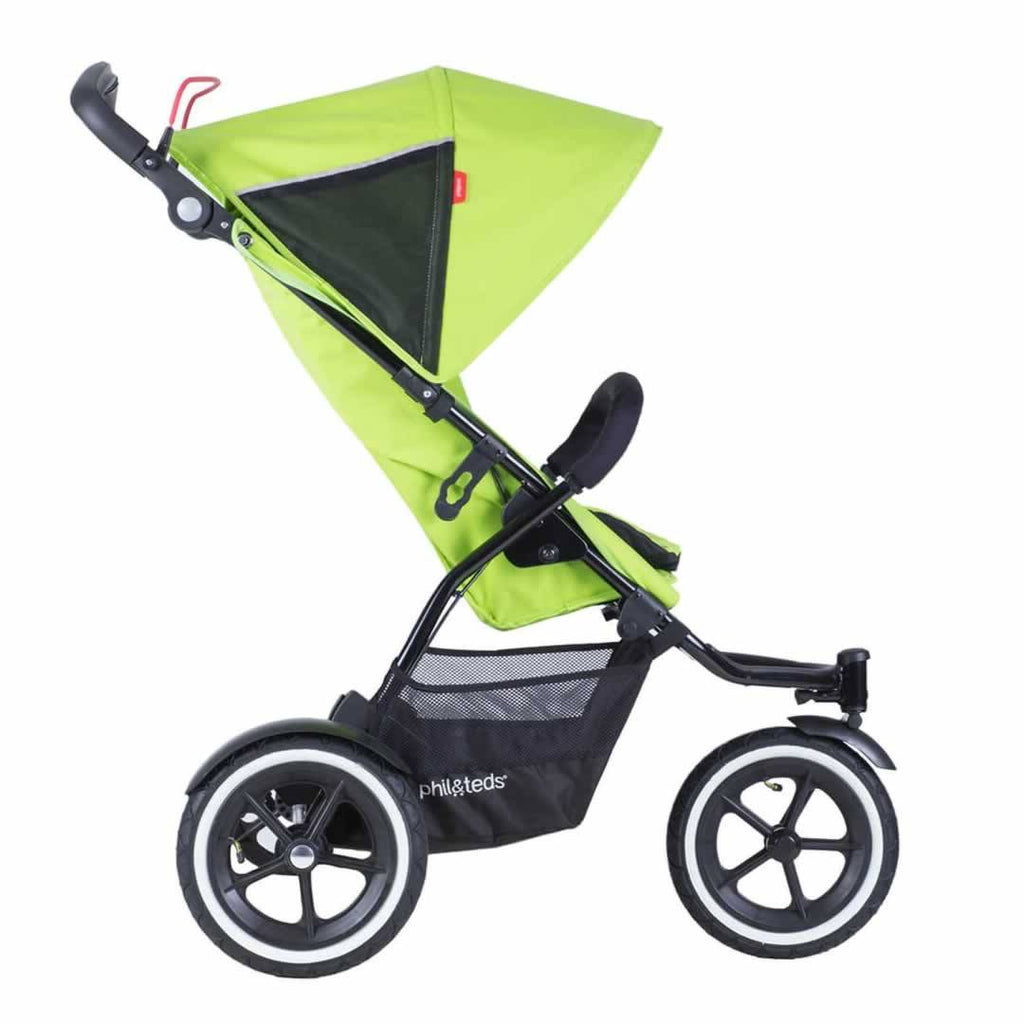 Phil & Teds Sport Pushchair - Apple-Strollers- Natural Baby Shower