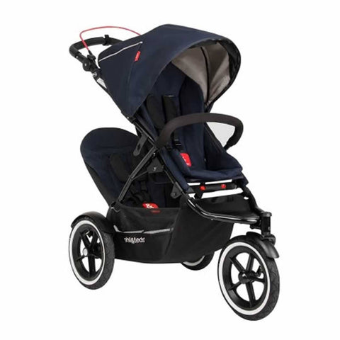 Phil & Teds Sport Pushchair + Double Kit Midnight