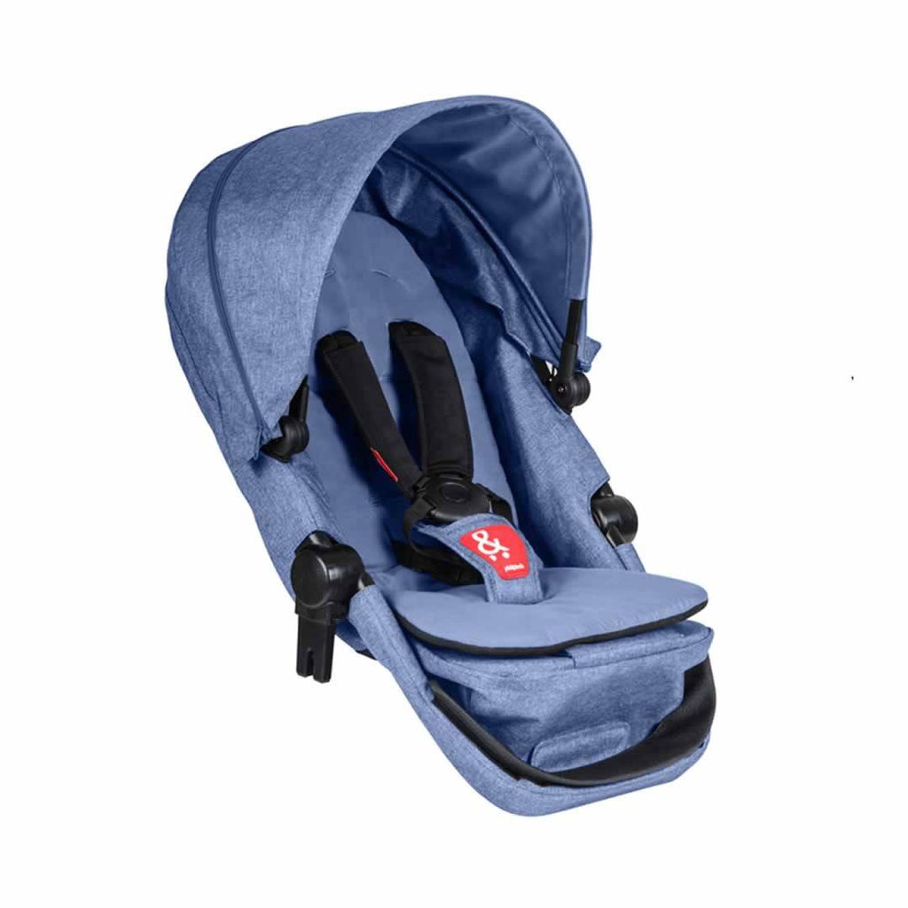 Phil & Teds Voyager Double Kit in Blue Marl