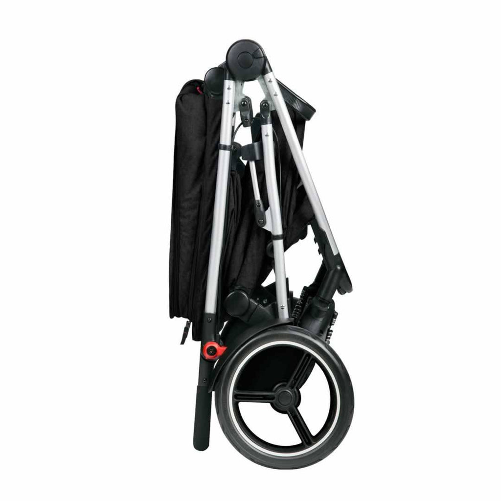 Phil & Teds Voyager Pushchair - Black Folded