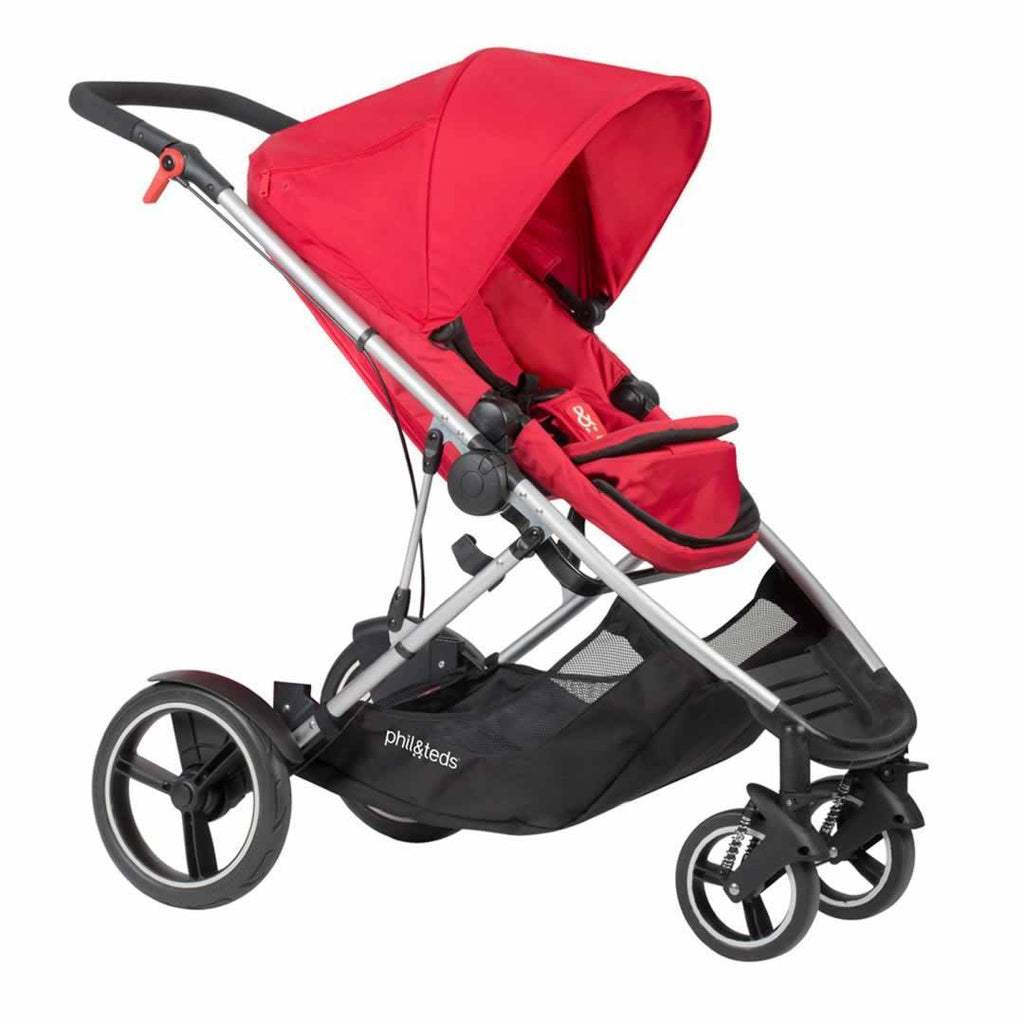 Phil & Teds Voyager Pushchair in Chilli