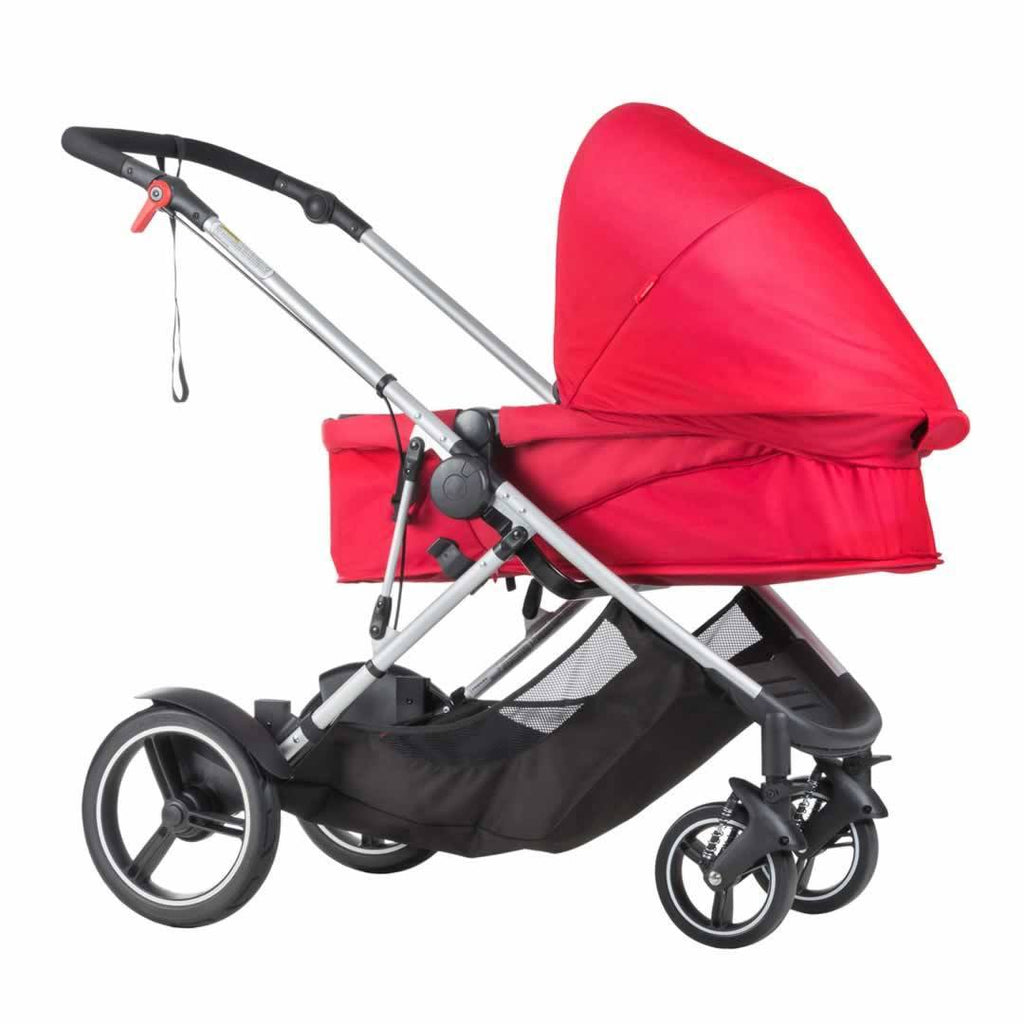 Phil & Teds Voyager Pushchair - Chilli Carrycot