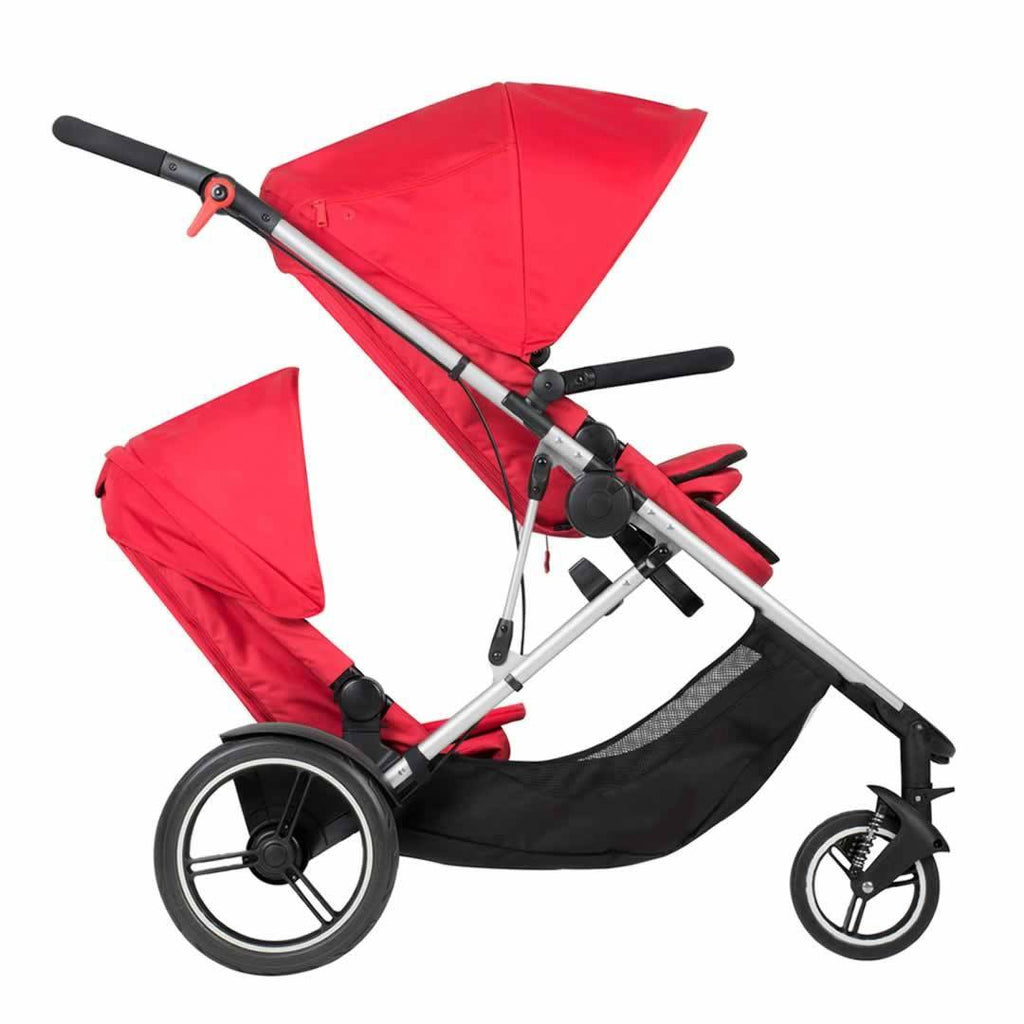 Phil & Teds Voyager Pushchair + Double Kit Chilli